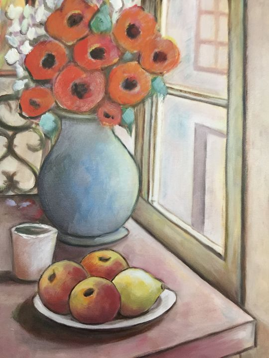 Poppies and apples - Leonardo Craciun