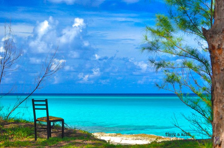 Have A Seat Bimini Bahamas - Lyle Saunders Photography