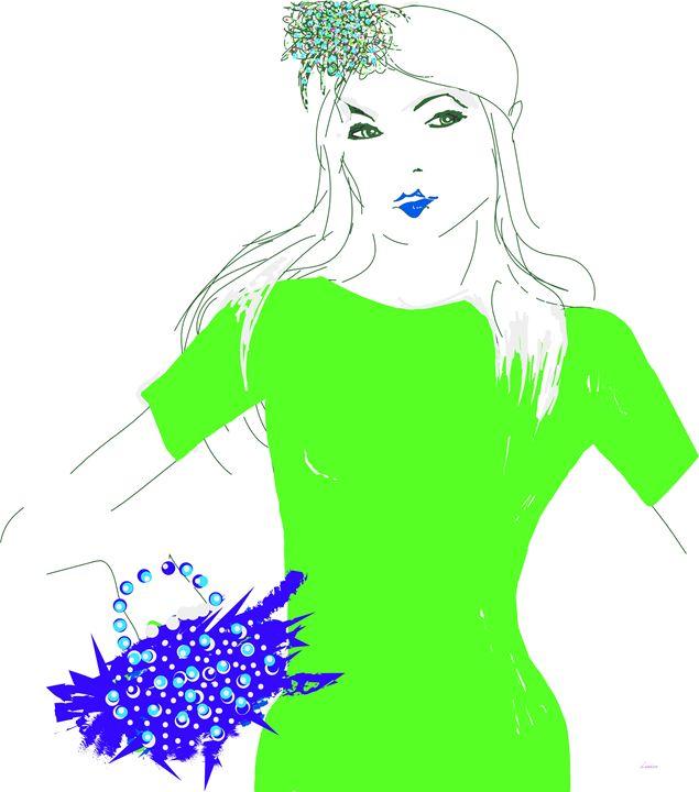 Lady in Lime - Darlene Watson