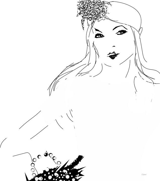 Lady in White - Darlene Watson