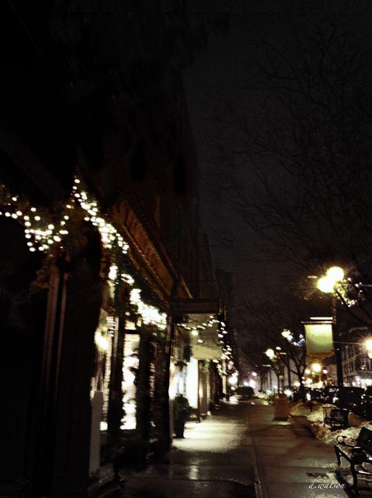 Stratford Streets After Dark - Darlene Watson