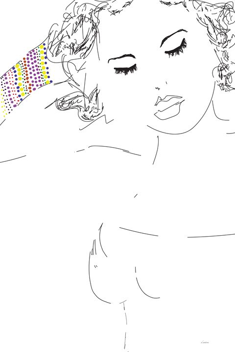 Coloured Cuff - Darlene Watson