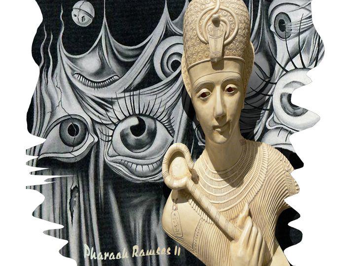 Pharaoh Ramses II, Dali, Hitchcock - Vanyssa Design