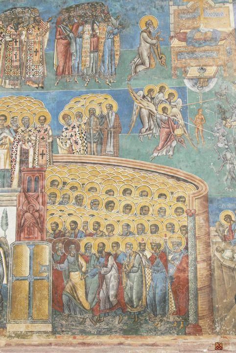 Voronet Church 1 -A vision of Heaven - Vanyska Design