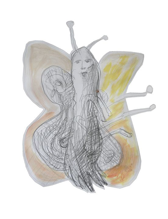 """The Yellow Butterfly"" ACCI Art - Vanyska Design"