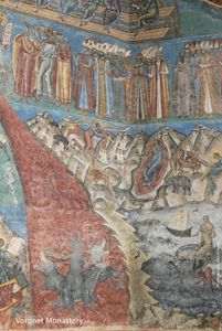 Voronet Church 4 - A Vision of Hell