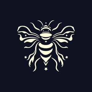 Bee black by #Bizzartino