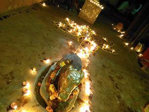 Image of God nandi festival of dispo