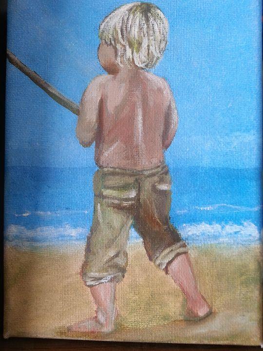 Young fisherman - Aliart