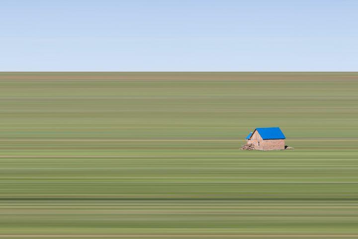 Little House on the Prairie - art by vasco