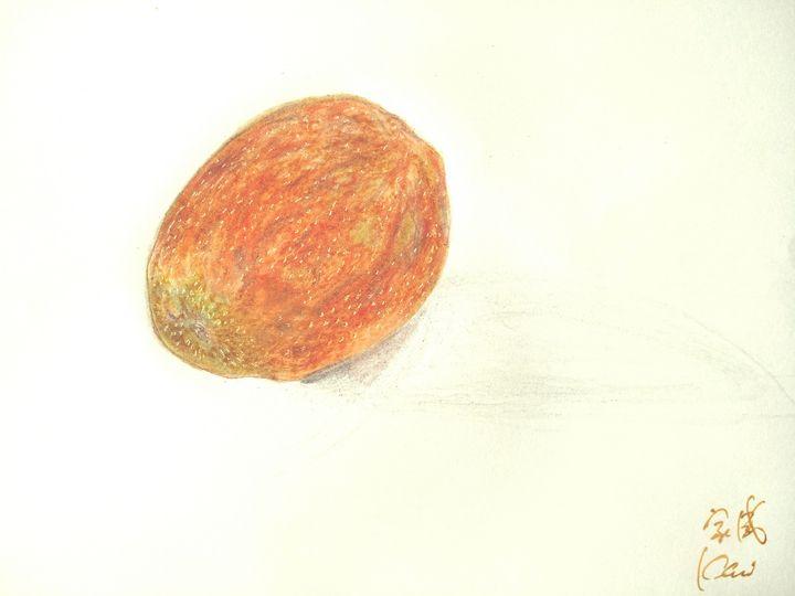 画百香果 家威绘画 How to Draw Passion Fruit - 家威绘画 Kavi Art Class