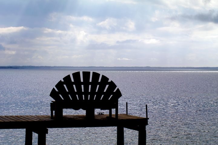 Bench at the Beach - My Favorite Photography