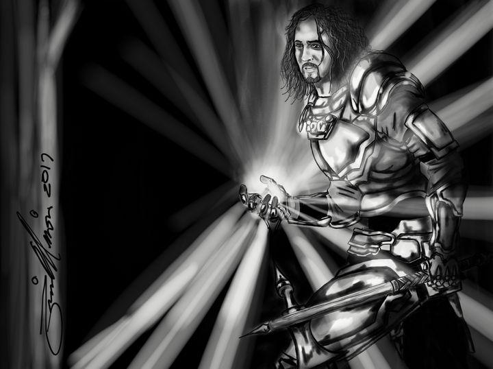 Paladin Magic Fantasy Art Drawings Illustration Fantasy Mythology Fantasy Men Women Males Artpal