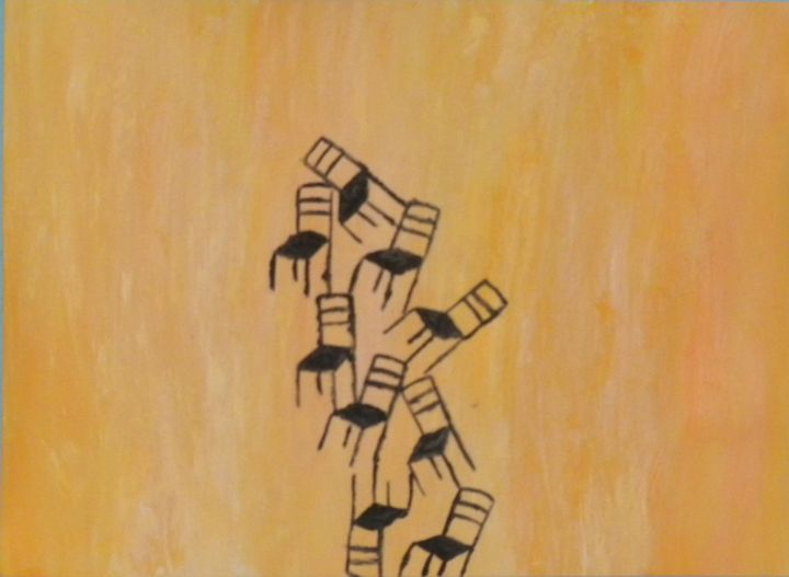 Chairs / columns (Sillas/columnas) - José Alva