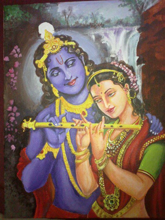 radha krishna - Art Magic