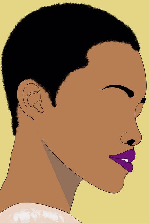 Black woman with short hair - AnuKumari Verma