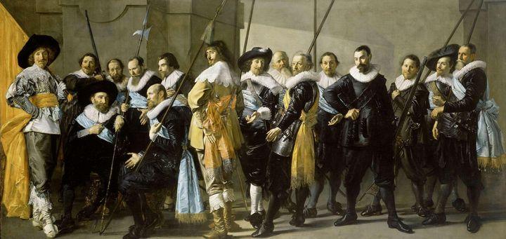 Pieter Codde, Frans Hals~Militia Com - Treasury Classic