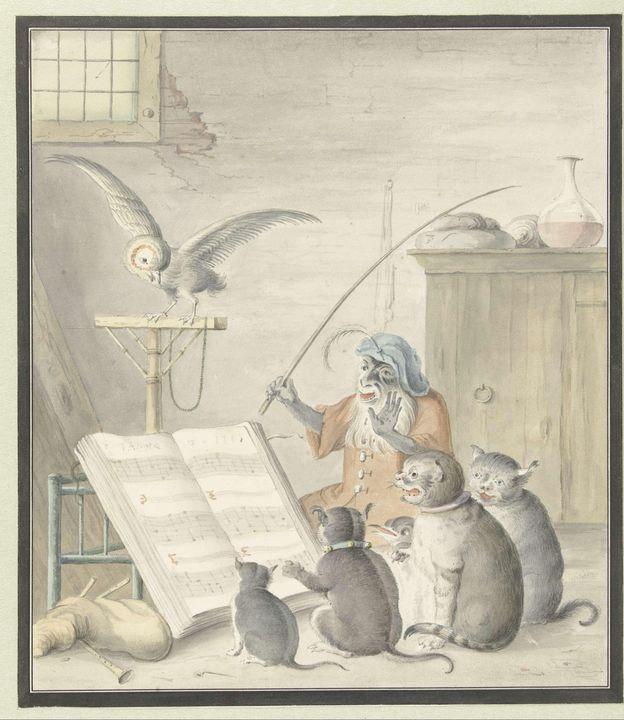 possibly Cornelis Saftleven~Interieu - Treasury Classic