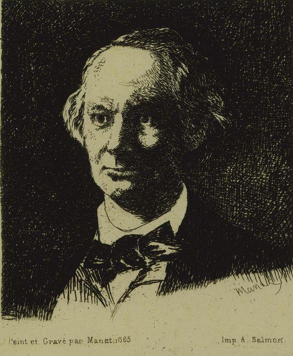 Édouard Manet~Baudelaire - Treasury Classic