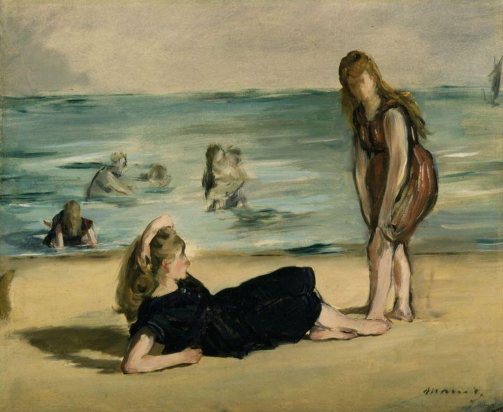 Édouard Manet~On the Beach (2) - Treasury Classic