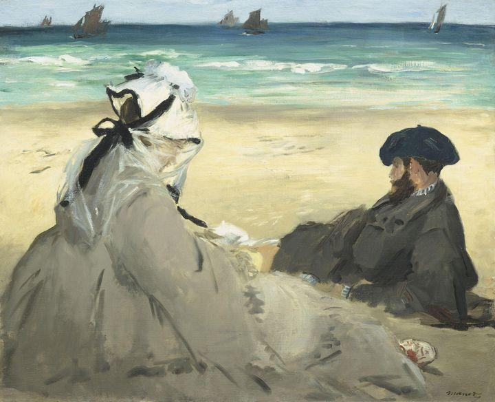 Édouard Manet~On the Beach - Treasury Classic