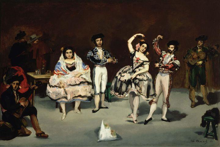 Édouard Manet~Spanish Ballet - Treasury Classic