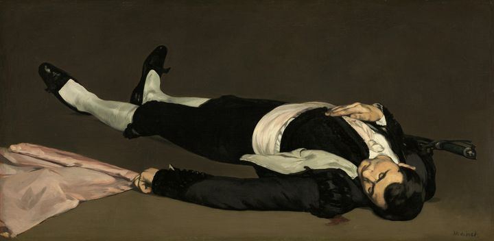 Édouard Manet~The Dead Toreador - Treasury Classic