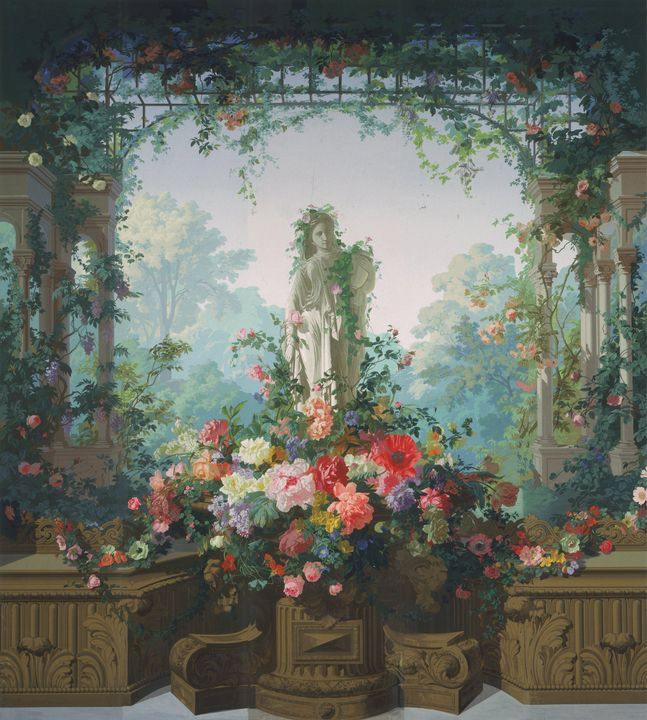 Édouard Muller~Garden of Armida Wall - Treasury Classic