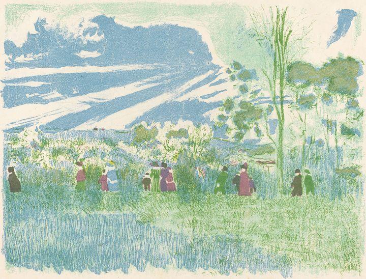 Édouard Vuillard~Across Country (A t - Treasury Classic