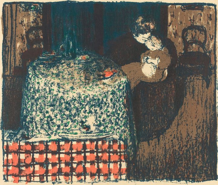 Édouard Vuillard~Motherhood (Materni - Treasury Classic