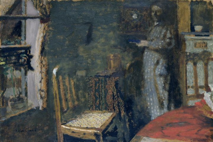 Édouard Vuillard~Woman by the Window - Treasury Classic