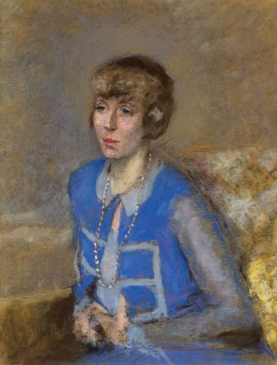 Édouard Vuillard~Woman in Blue - Treasury Classic