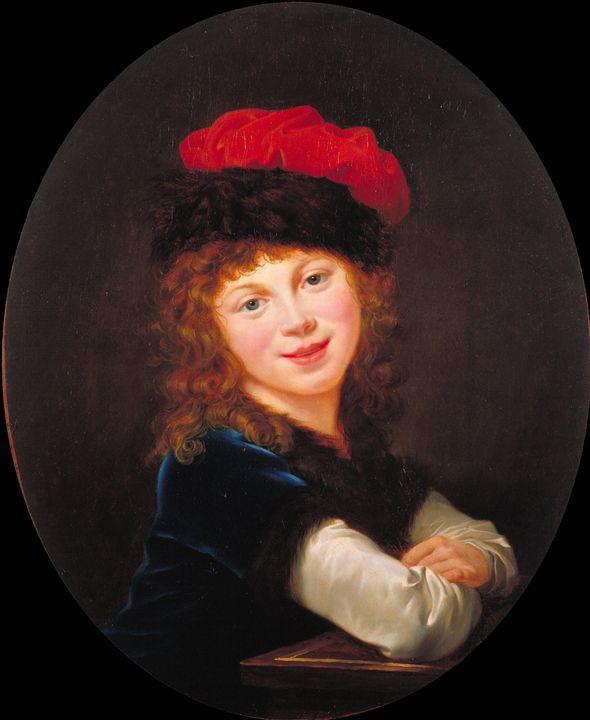 Élisabeth Vigée Le Brun~Portrait of - Treasury Classic
