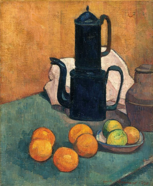 Émile Bernard~The Blue Coffee Pot - Treasury Classic