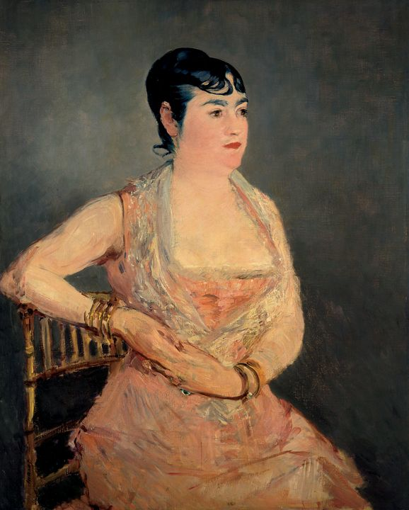 Édouard Manet~Lady in Pink - Treasury Classic