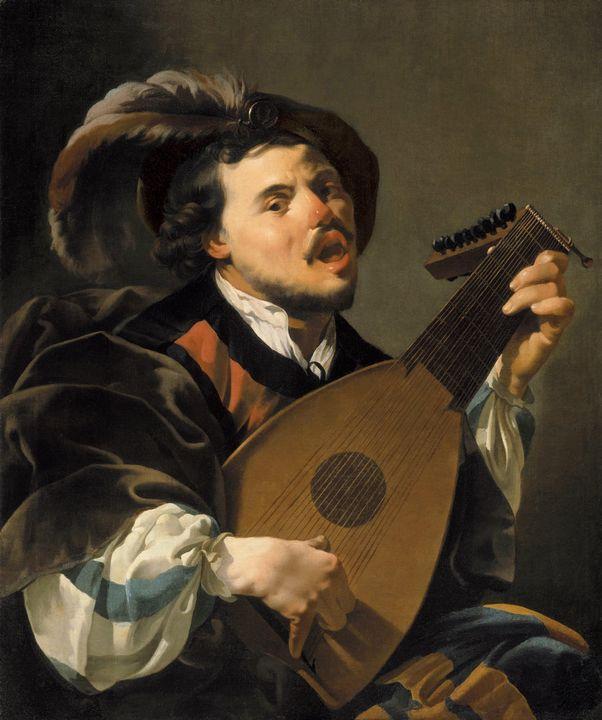 Hendrick ter Brugghen~The singing lu - Treasury Classic