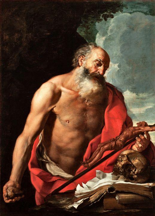 Hendrik Van Somer~Saint Jerome - Treasury Classic