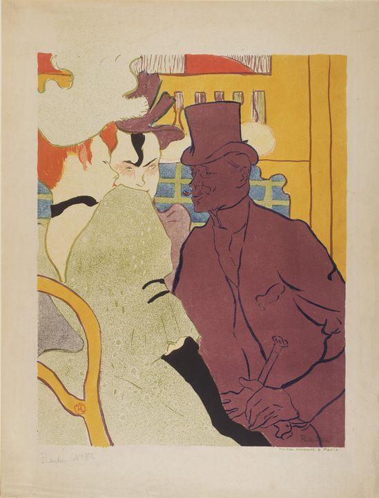 Henri de Toulouse-Lautrec~Flirt (An - Treasury Classic