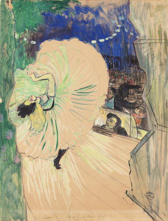 Henri de Toulouse-Lautrec~The Wheel - Treasury Classic