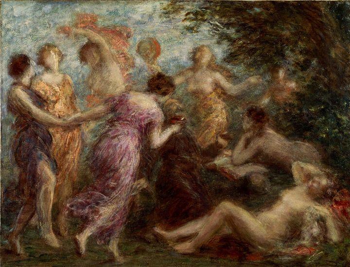 Henri Fantin-Latour~The Temptation o - Treasury Classic