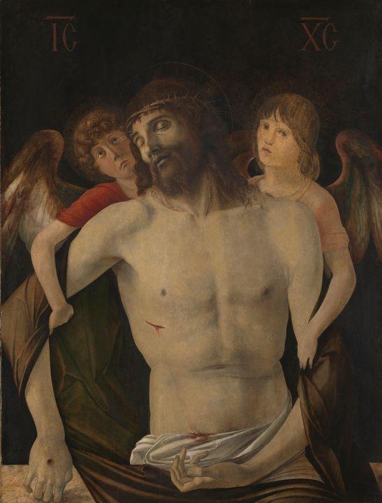 Giovanni Bellini~The Dead Christ sup - Treasury Classic
