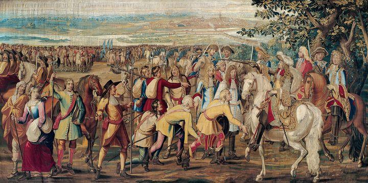 Gobelin~The Surrender of Marsal - Treasury Classic