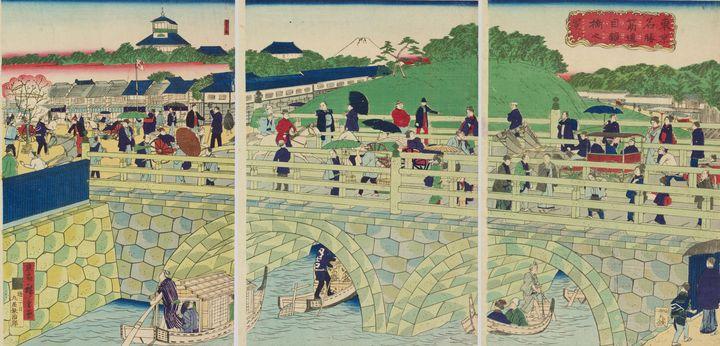 Hiroshige III, Hiroshige~Tokyo Famou - Treasury Classic