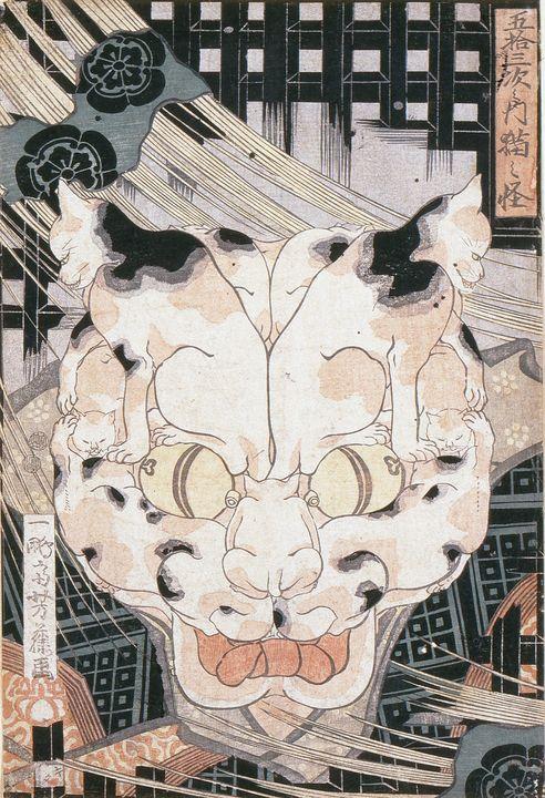 Hiroshige~Cats' Fifty Three Stations - Treasury Classic