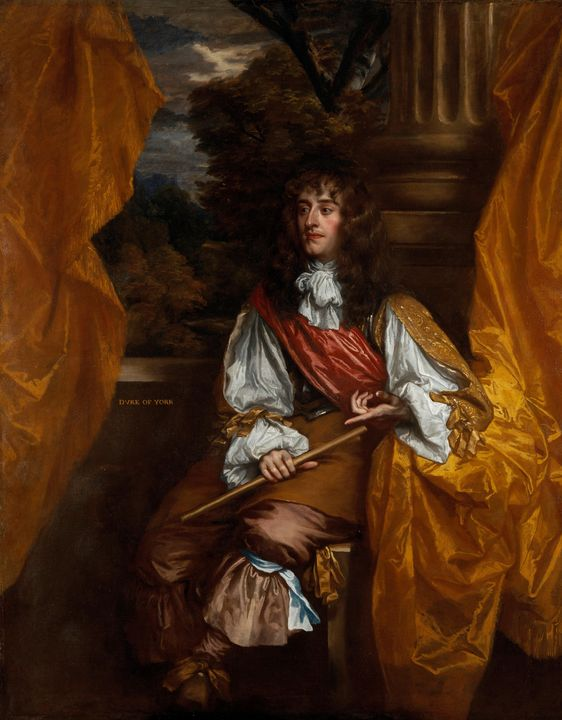 Peter Lely~James VII and II, when Du - Treasury Classic
