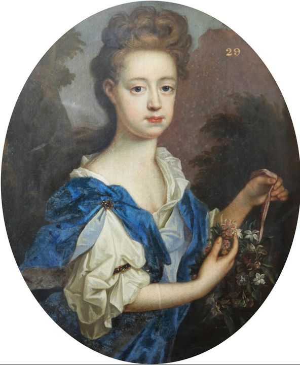 Peter Lely~Portrait of a Lady with a - Treasury Classic