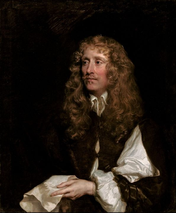 Peter Lely~Portrait of a man, though - Treasury Classic