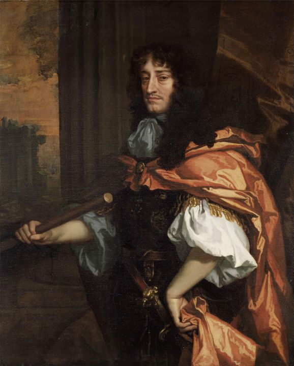 Peter Lely~Prince Rupert of the Rhin - Treasury Classic