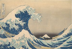 Hokusai~冨嶽三十六景 神奈川沖浪裏Under the Wave
