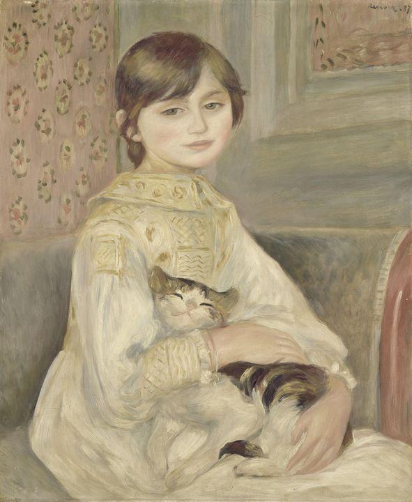 Pierre-Auguste Renoir~Julie Manet - Treasury Classic